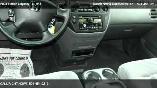 2004 Honda Odyssey EX-RES with DVD Rear Entertainment System - for sale in Metairie, LA 70003