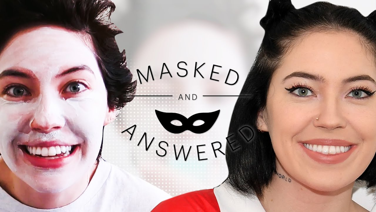 Bishop Briggs' Skincare Trick for Better Self-Esteem | Masked and Answered | Marie Claire