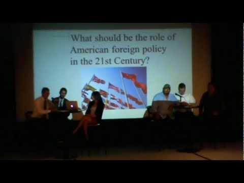 YAL-UTEP Student Debate (Part I)