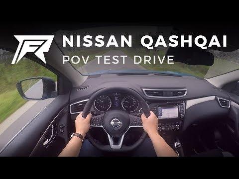 2017 Nissan Qashqai DIG-T 115 - POV Test Drive (no talking, pure driving)