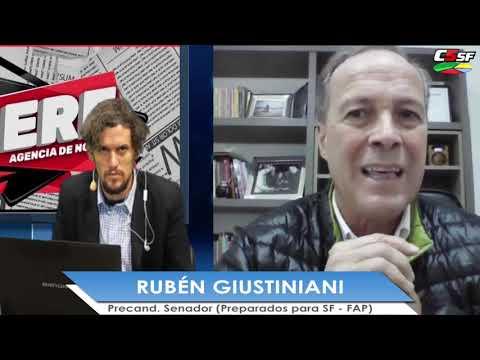 Rubén Giustiniani: Con la grieta vamos de mal en peor