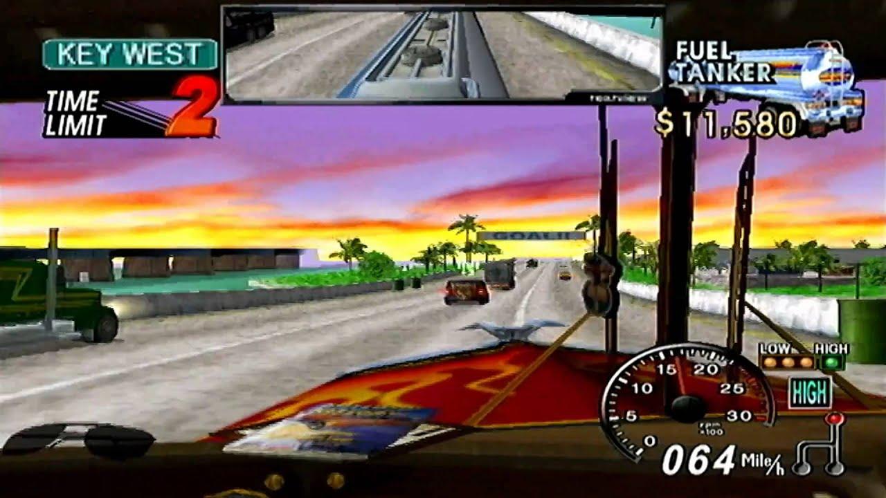 18 Wheeler:American Pro Trucker GameCube