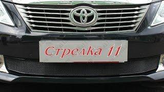 Защита радиатора OPTIMAL TOYOTA CAMRY VII (XV50) 2011-2014г.в. (Черный) - strelka11.ru