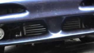 Experimental boost setup. KLZE turbo