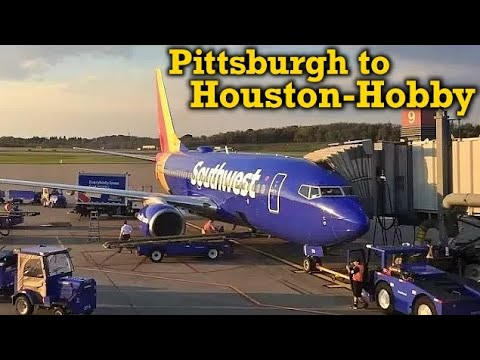 Full Flight: Southwest Airlines B737-700 Pittsburgh to Houston-Hobby (PIT-HOU)