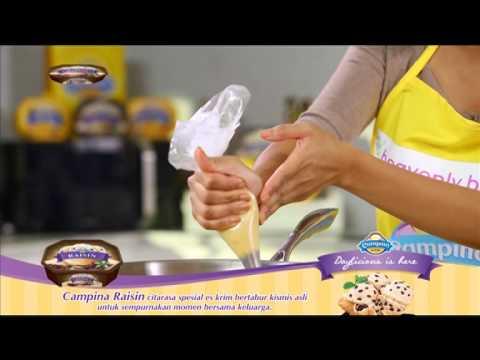 Churros Kayu Manis with Campina Raisin Ala Chef Farah Quinn