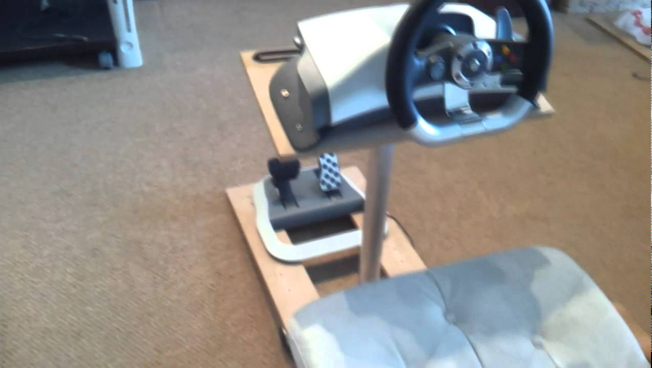 Home Made Xbox360 Wheel Stand Stand Pro Look A Like Youtube
