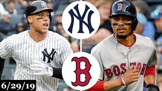 New York Yankees vs Boston Red Sox Highlights - London Series | June 29, 2019 | 2019 MLB Season