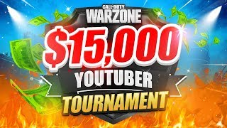 🔴 $15,000 WARZONE TOURNAMENT - TEEPS TRIALS (Week 1)