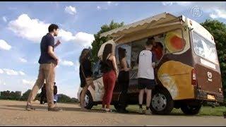 英國冰淇淋車 海外銷售大增│大千世界│冰淇淋甜筒│冰棒│童年回憶