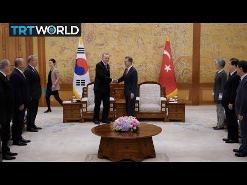 Turkey Seeks South Korea Free Trade Agreement Money Talks Youtube