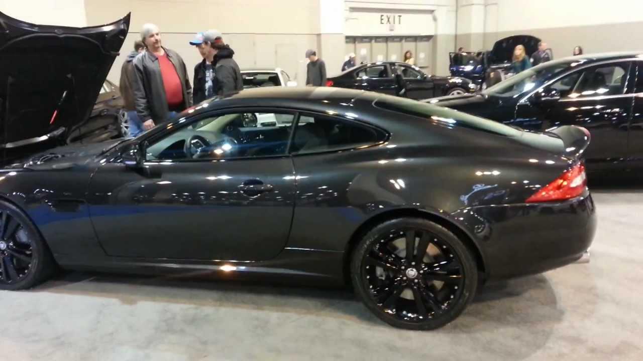 Jaguar XKR Coupe 2013 Black On Black Staggered
