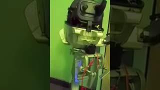 Поворот лодочного мотора сервоприводом Arduino (тестовый вариант 1)