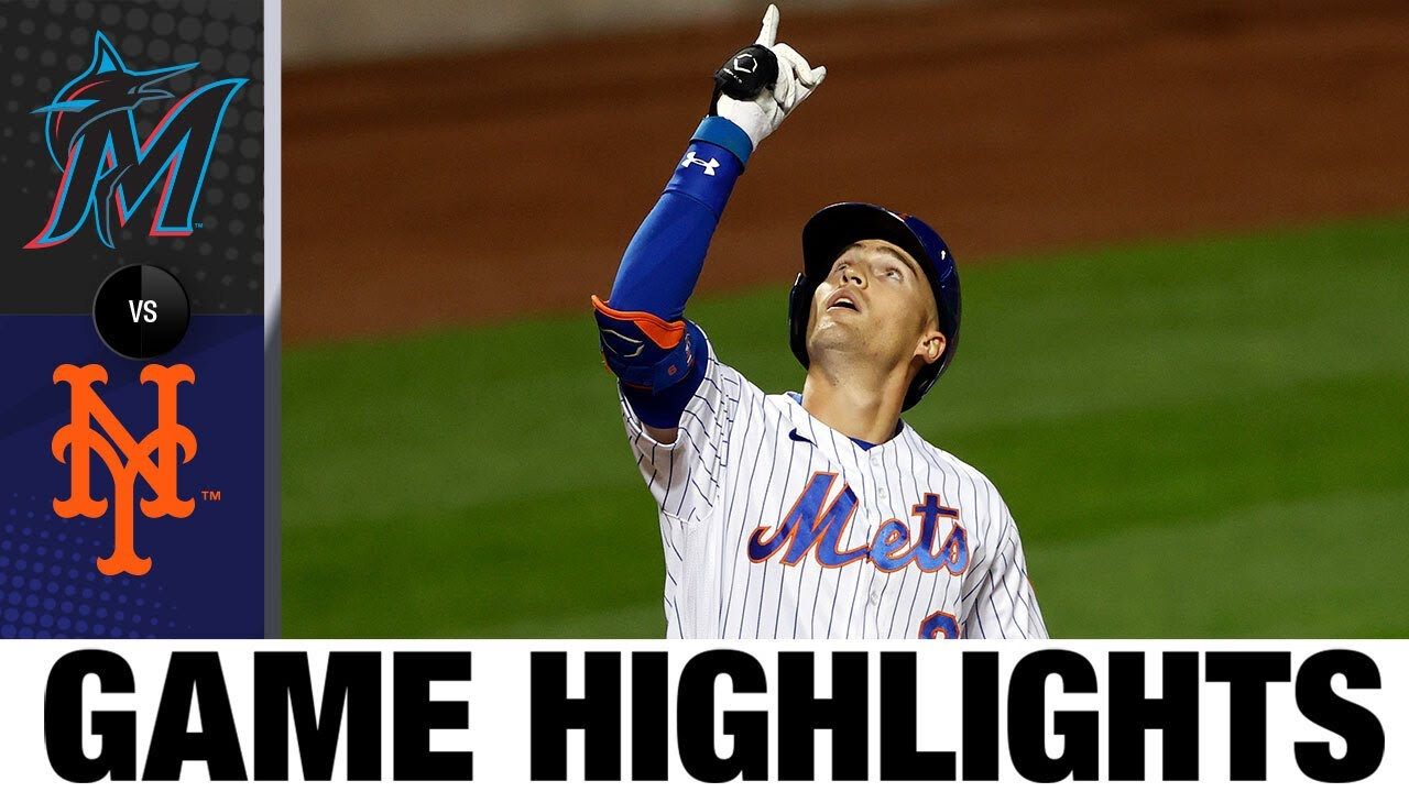 Jacob deGrom fans 14 in Mets' 5-4 win | Marlins-Mets Game Highlights 8/26/20