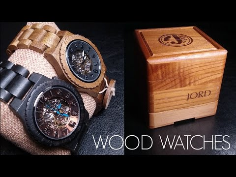 WOOD WATCHES REVIEW!   JORD