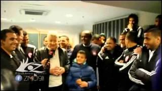 مرتضي منصور يوعد لاعبي الزمالك بمليون جنية من فلوس نادي الوصل وعمرتين بعد مباراة بتروجيت