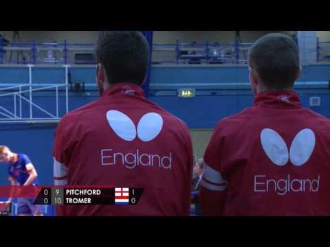 Pitchford vs Tromer - England vs Netherlands