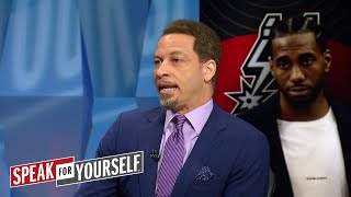 Chris Broussard talks Spurs drama and 2018 NBA Draft | NBA  | SPEAK FOR YOURSELF