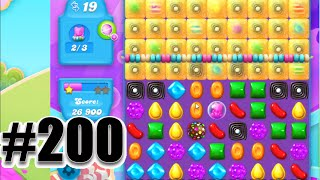 Candy Crush Soda Saga Level 200 | Complete! No Booster!