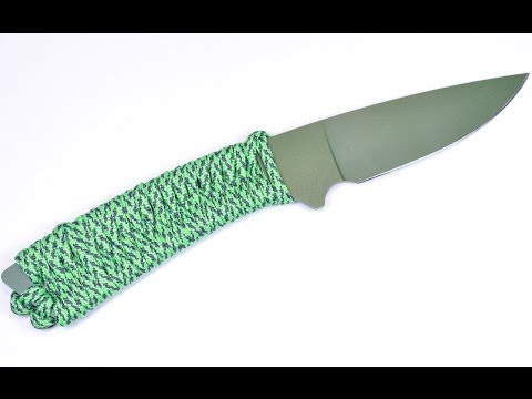 How to Wrap a Knife Handle with Paracord – BoredParacord