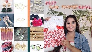 Best club factory haul   Jewellery, bags, footwear, sunglasses & many more