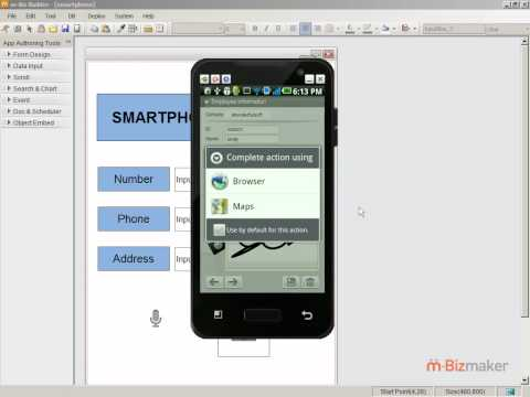 Free & New App development tool!(19) - Handling of Smartphone-specific Functions