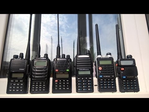 Chinese radios comparison: Baofeng vs Puxing vs Quansheng vs Wouxun