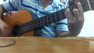 Green Fields guitar cover