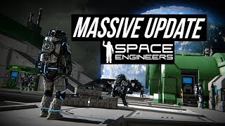 Space Engineers BIG Update - Full Economy, Mission System, Base Shield,  Stores, Factions & MORE