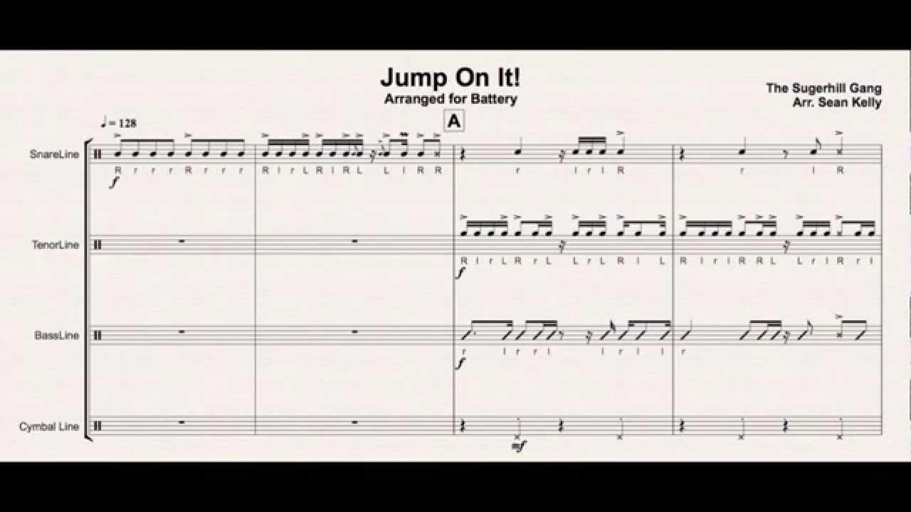 Jump On It! - Drumline Cadence