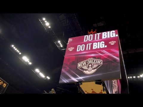 Smoothie King Center: Enhancing the Fan Experience with New Centerhung LED Videoboards