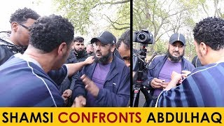 Anjem Choudary Supporter CONFRONTED By Shamsi | Speakers Corner
