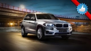 2015 BMW Concept X5 eDrive plug-in hybrid: NY Show
