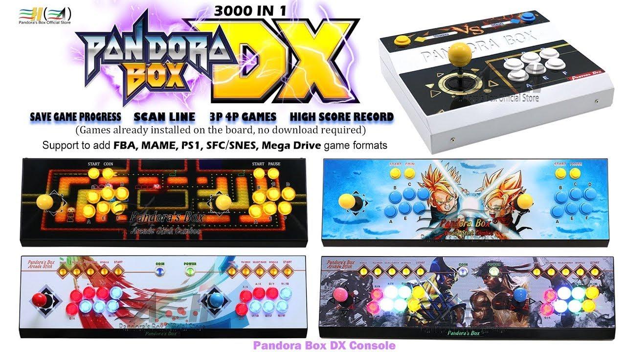 3A Pandora Box DX Arcade Game Console