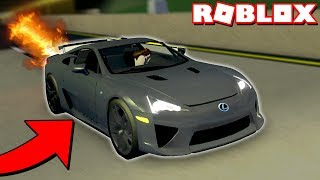RACING FANS WITH *NEW* LEXUS LFA SUPER CAR! (Roblox Ultimate Driving)