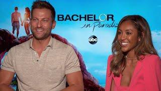 Bachelor in Paradise: Tayshia Adams and Chris Bukowski Spill Season 6 Secrets (Exclusive)