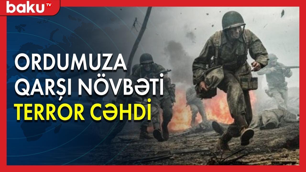 Ordumuza qarşı növbəti terror cəhdi - Baku TV