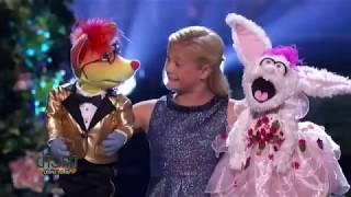 สาวน้อยนักพากย์เสียงหุ่นเชิดวัย 12 คว้าแชมป์ America's Got Talent