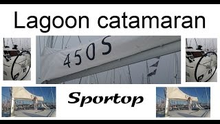 New Lagoon 450 S  sportop catamaran Worldwide Premiere