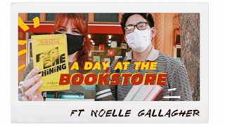 a day at the bookstore (+ book haul) ft. noelle gallagher | vlog