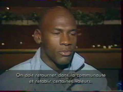 Planete Jordan 1993 - Avec George Eddy - Petit Extrait - VHS Basket