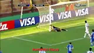 U de Chile 5-1 Godoy Cruz - 27 llegadas de la U - Copa Libertadores 2012