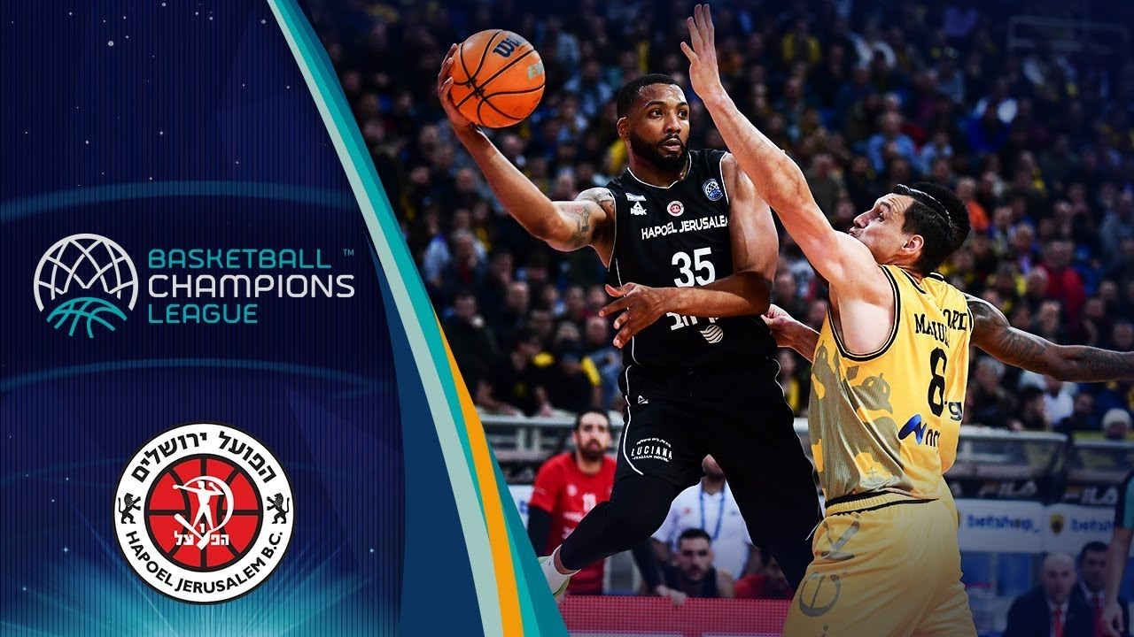 Tashawn Thomas (Hapoel Jerusalem) | Highlight Tape | Basketball Champions League 2019