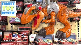 Disney Cars Toy Hunt - Jurassic World Toy Hunt - New Thomas & Friends - Imaginext Jurassic World Toy