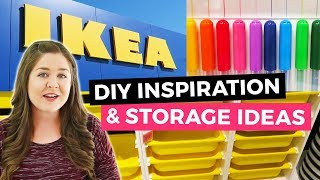 IKEA DIY Inspiration & Storage Ideas - Shop with Me! | Sea Lemon