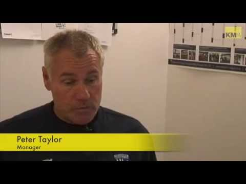 Gill's boss Peter Taylor's midweek video interview