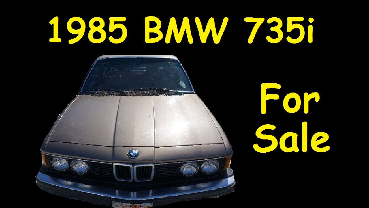 save cars from scrap bmw 735i e23 for sale $1350 parts project car