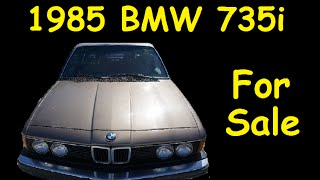 Save Cars from Scrap BMW 735i E23 For Sale $1350 Parts Project Car(Cheap used Luxury Car... WOW this is one Heck of a Deal on this Low Mile Classic or Vintage Car CLEAN and getting Hard to Find. Well Cared for Subscribe ..., 2016-02-11T02:00:57.000Z)