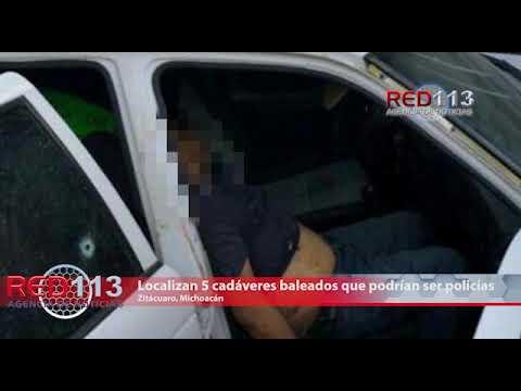 VIDEO Confirma PGJ que 4 de los 5 fallecidos encontrados en Curungueo son policías de Tuzántla que estaban desaparecidos