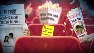 [シネマパラダイスⅡ] 結婚式 オープニング シネマチック レトロ 映画館 スター